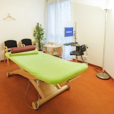 Behandlungsraum Osteopathie